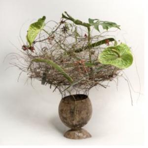 Bouquet objet prêt à fleurir